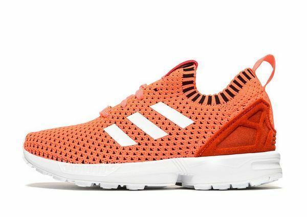 Latest Adidas Originals ZX Flux Primeknit Girls/Femme Trainers(Variable Taille)