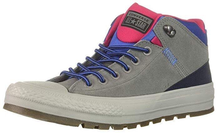 Converse Chuck Taylor All Star Street Hi Schuhe Stiefel Stiefel Stiefel Turnschuhe 162361C (Grau) 441da0
