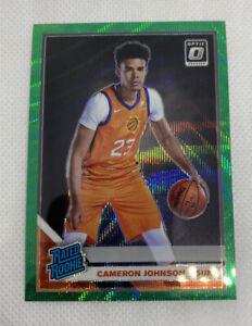 2019-20-Optic-CAMERON-JOHNSON-Fanatics-Prizm-Green-Wave-SP-RC-Rated-Rookie