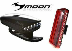 FREE EXPRESS POSTAGE MOON MIZAR FRONT 100 LUMENS USB RECHARGEABLE LIGHT