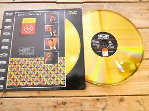 LEVEL-42-LIVE-AT-WEMBLEY-LD-Laserdisc-EX-cover-EX-PAL-Original-1987