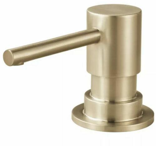 Brizo RP79275GL Solna Deck Mounted Soap Dispenser, Gold Luxe