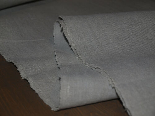 yardage Linen Antique Flax Old Organic Natural Handwoven Homespun Rustic Fabric