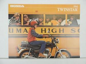 Vintage 1982 Honda Twinstar CM200T Dealer Brochure Specifications L6124