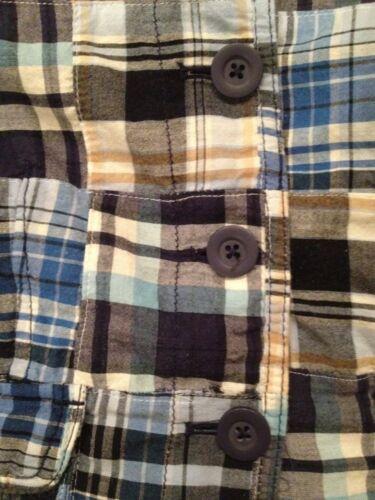 Femmes Ann Veste Inde Plaid Taylor Manteau Coton 100 Loft Madras Patchwork 8 qUHgEUrw