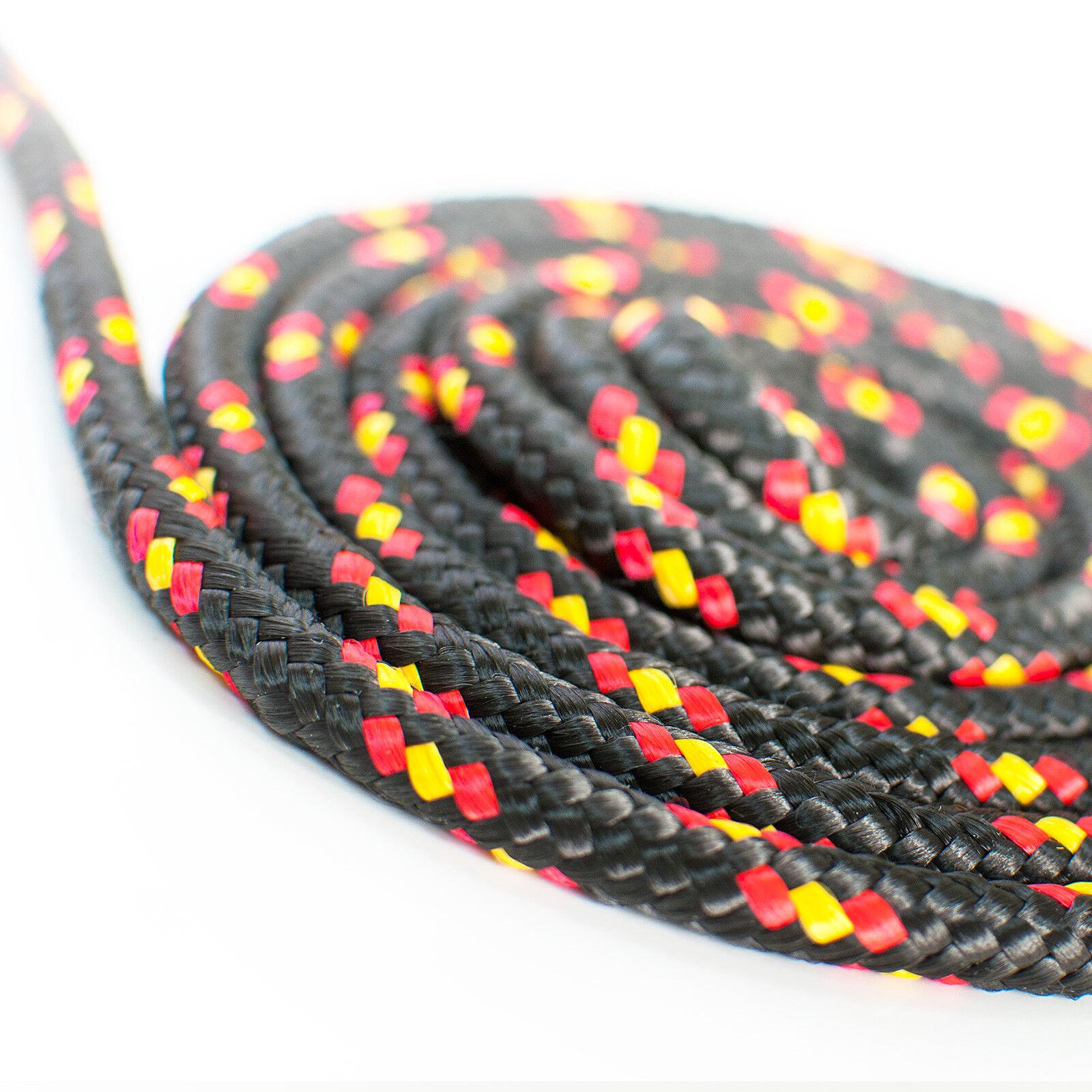 Tauseil versch. Farben bunt Polypropylenseil Schnur Tau Seile Seile Tau Polypropylen 1d14ae