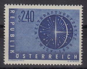 OSTERREICH-Mi-1026-Weltkraftkonferenz-postfrisch-MW-14-M176-1