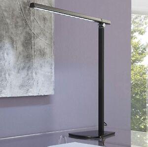 design led schreibtischlampe b rolampe lese tischlampe dimmbar schwarz t40 3. Black Bedroom Furniture Sets. Home Design Ideas