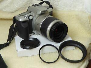 Minolta Dynax 5 35mm SLR Film Camera C/W 28 100mm + filter Minolta Lens