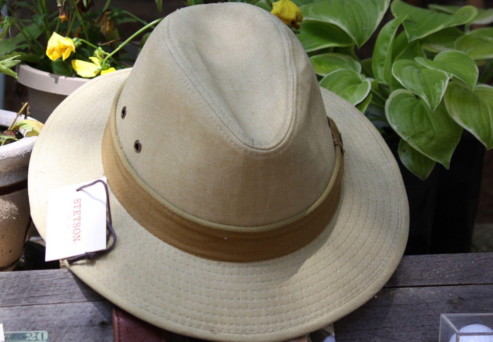 Stetson-Men's-Oxford-Safari Khaki One Great  Hat - Large  various sizes