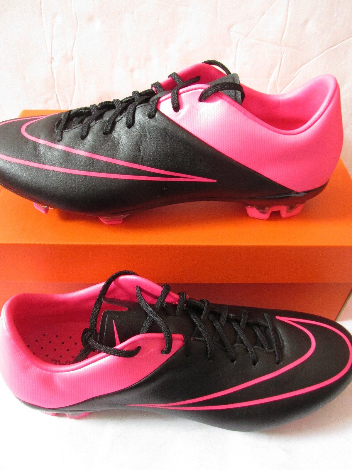 Nike Mercurial  Veloce II Lthr Fg Hombre botas de Fútbol 768808 006 Fútbol Tacos  directo de fábrica
