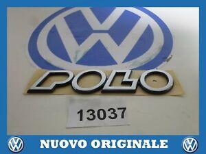 Print Written Logo Emblem 'Polo' Original Volkswagen Polo 1995 2000