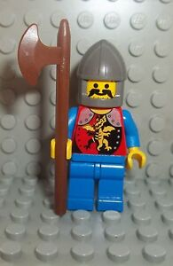LEGO-Ritter-Figur-Drachenritter-inkl-Waffe-aus-6076-System-Castle-Knight-RFE4