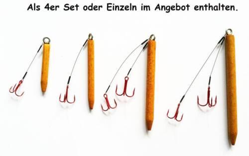 Fliegen Set Fly Bunnies Dorsch Hecht Streamer Fliegenfischen Köder 3 Stück