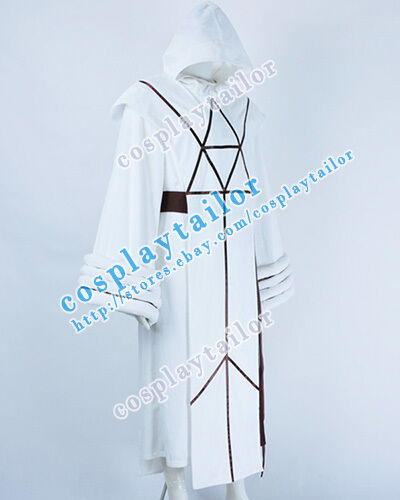 Details about  /Star Trek IV The Voyage Home Spock Cosplay Costume White Kimono High Quality