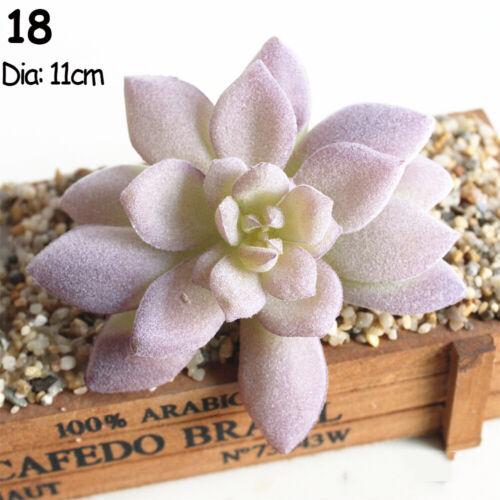 Wall Simulation Grass Flocking Plants Artificial Flower Purple Succulents