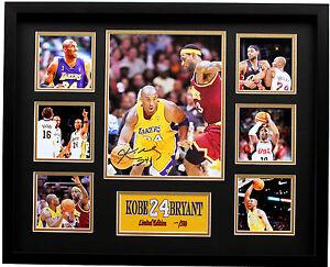 New Kobe Bryant Signed LA Lakers Limited Edition Memorabilia
