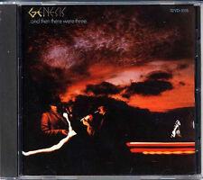 GENESIS Then There Were Three JAPAN 1st Press 1986 CD 32VD-1015 3200Yen RARE!