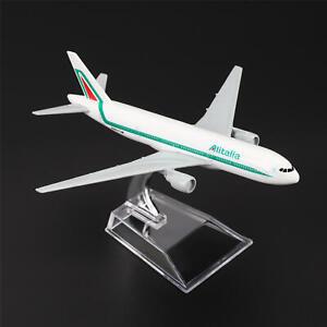 16cm Aircraft Plane Boeing 777 Alitalia Airlines Aircraft Diecast Model