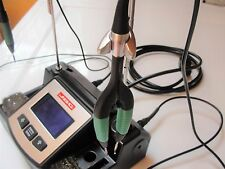 Complete JBC Nano NA-1A Soldering Station w/ Nano Tweezers and Solder Iron tips