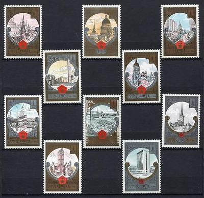 30242) RUSSIA 1980 MNH** Tourism - 10v. Scott#B127/136