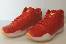Real Nike Kobe 10 EXT Mid University Red Metallic Gold