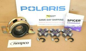 Polaris RZR XP 1000 Front And Rear Drive Line Prop Shaft U-Joint Kit 2015-2018