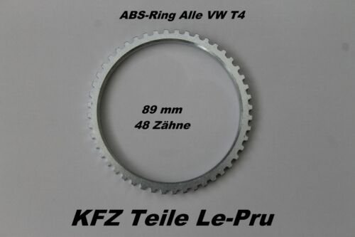 ABS Ring Sensorring alle VW T4 Kasten mit 48 Zähne