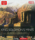 King Solomon's Mines by Sir H Rider Haggard (CD-Audio, 2011)