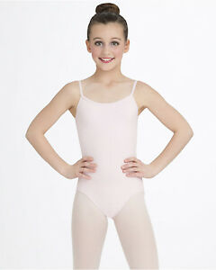 f495611576d Capezio 9933C Girl s Large (12-14) Pink Adjustable Strap Camisole ...