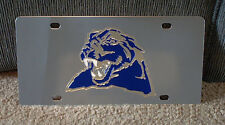 University of Pittsburgh Panthers Pitt stainless steel vanity License plate tag