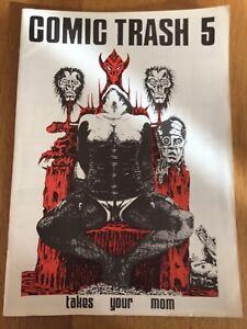 FUMETTO TRASH N. 5 1989 Independent art punk 80er anni fumetti riviste