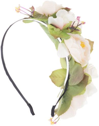 Haarreif Rockabilly Vintage JOSPHINE Floral FLOWERS Blumen ROSEN Boho 50s