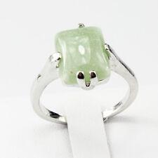 Green Aventurine Gemstone  Jewelry 925 Silver Men Women Ring Size 6