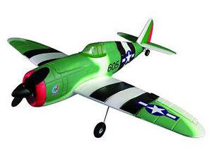 RC-Flugzeug-Motorflugzeug-P-47-Thunderbolt-Brushless-4-Kanal-830mm-Komplettset