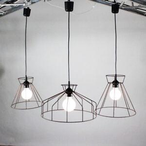 Käfig Draht Gitter Lampen 3er Set Skelett Leuchten Ghost Lamp Shabby ...