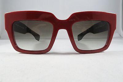 399efb655f Prada SPR 28P SMN-0A7 2N Red-Black New Authentic Sunglasses 51mm 20mm 140mm