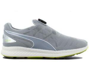 9481266c11a Puma Ignite Disc Men s Shoes Sneakers Grey Running Shoes 188616-05 ...
