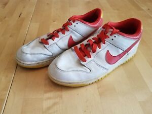 best authentic 29bda edf62 Image is loading Nike-NYX-Dunk-Low-Ronald-McDonald-Red-Yellow-