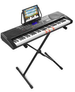Max KB9 Clavier électronique 61 touches avec support pour clavier