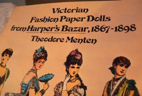 Vintage Dress Victorian Paper DOLL Fashion Designs