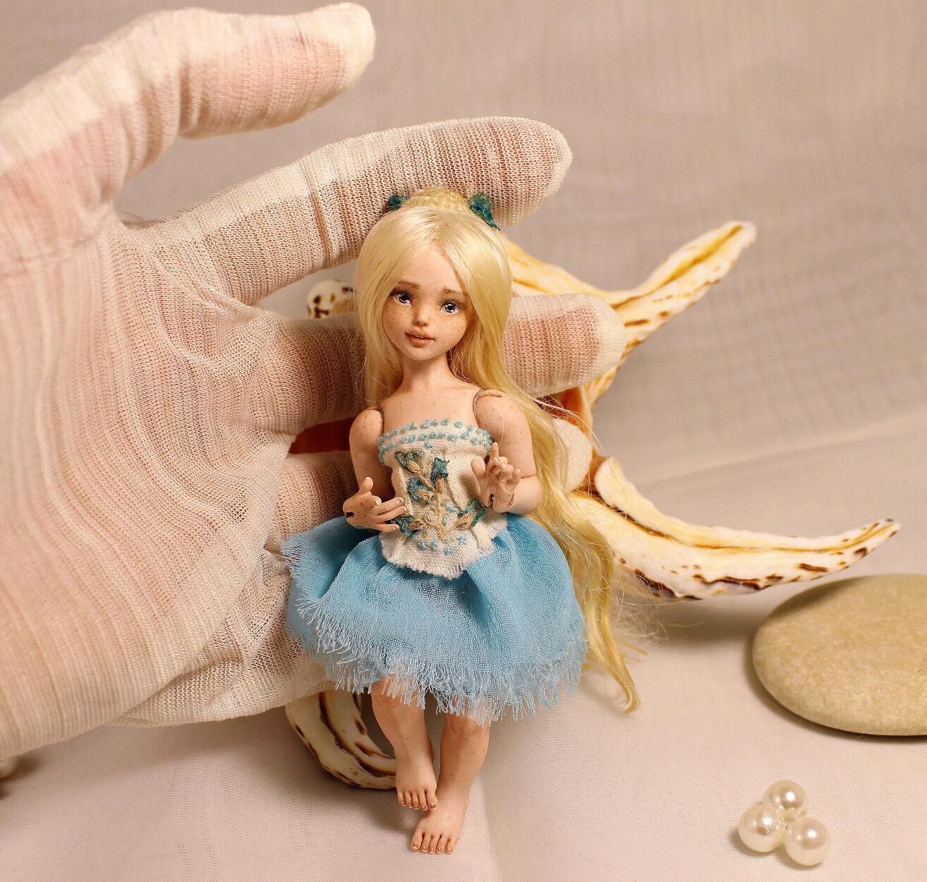 Elf Seia Porcelana uno de un tipo BJD Arte Muñeca por Julia Arts
