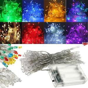 1-50M-10-500-LED-Electric-Solar-Battery-String-Fairy-Lights-Xmas-edding