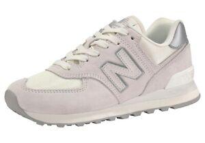 Details zu New Balance »WL 574« Sneaker, Gr.36(entspr.Gr.35), Veloursleder, Textil