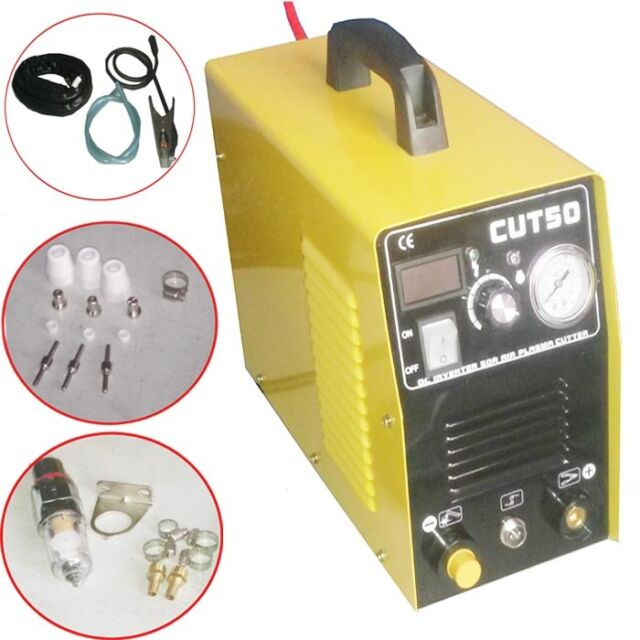 NEW Plasma Cutter 50AMP CUT50D Inverter Dual Voltage