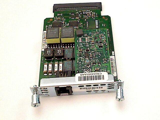 GENUINE CISCO WIC-1SHDSL-V3 CISCO 1 PORT G.SHDSL WAN INTERFACE CARD