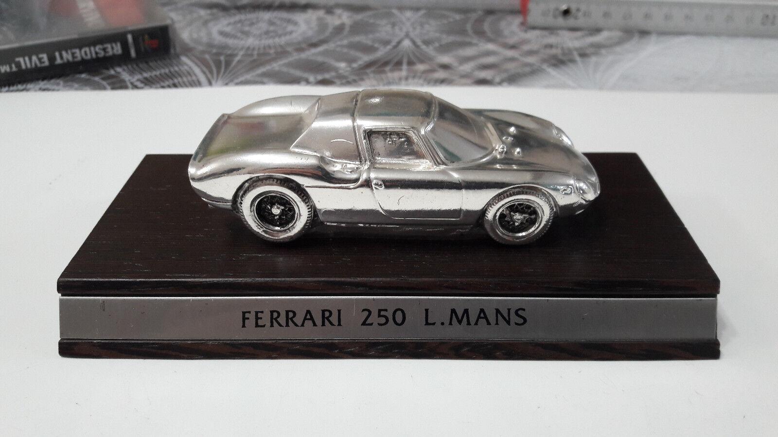 MODELLINO Ferrari 250 LM 1962 1 43 Silber plated Brebbia
