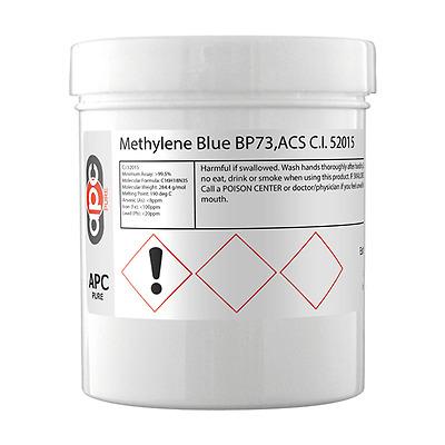 Methylene Blue BP73 ACS C.I.52015 100gm *Free Delivery*