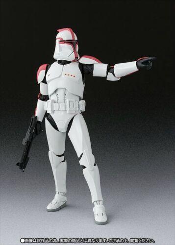 Figuarts Star Wars Clone Trooper Capitano fase 1 Action Figure BANDAI Nuovo S.H