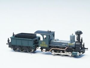Brass-Railex-Z-scale-Tristan-Klasse-C-II-Royal-Bavarian-RR-Green-Black-Grey